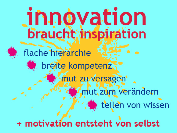 ✺ innovation braucht inspiration ✺